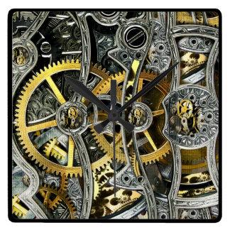 Reloj de pared de los mecanismos