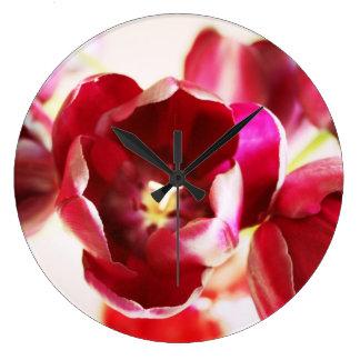 """Reloj de pared de los """"tulipanes"""""""