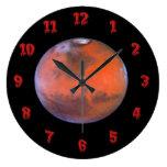 Reloj de pared de Marte