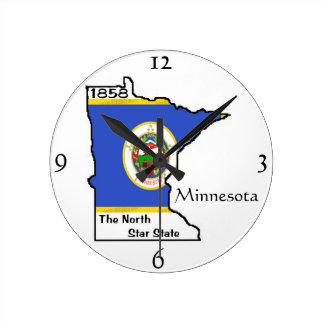Reloj de pared de Minnesota