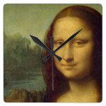 Reloj de pared de Mona Lisa