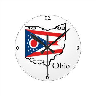 Reloj de pared de Ohio