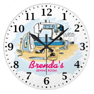 Reloj de pared de Personalizable de la máquina de