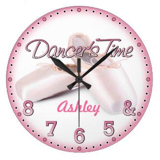Reloj de pared de Personalizable del tiempo del