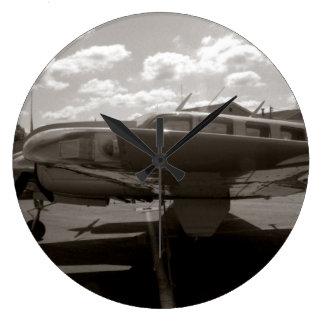Reloj de pared de rey Air de la haya