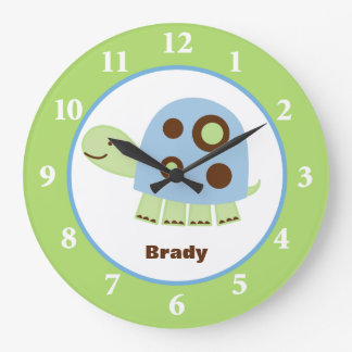 Reloj de pared de Sr Pond Turtle Custom