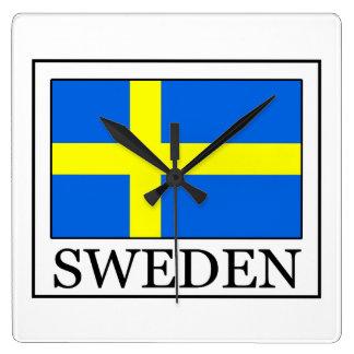 Reloj de pared de Suecia