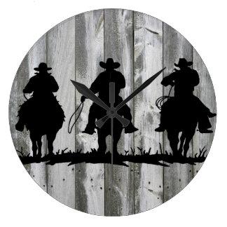 Reloj de pared de tres hombres sabios
