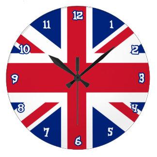 Reloj de pared de Union Jack