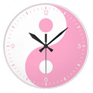 Reloj de pared de Yin Yang