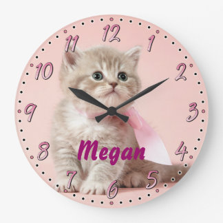 Reloj de pared decorativo de Personalizable del