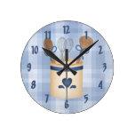 Reloj de pared decorativo lindo de la cocina