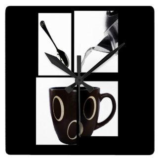Reloj de pared del amante del café
