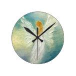 Reloj de pared del ángel