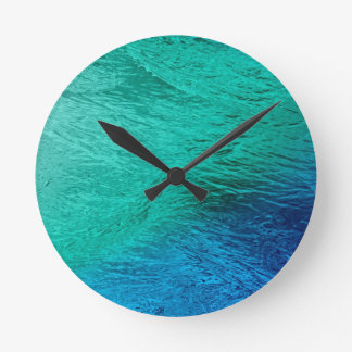 Reloj de pared del arte de Digitaces de la agua de