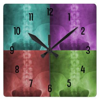 Reloj de pared del arte de la radiografía de Digit