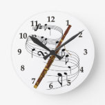 Reloj de pared del Bassoon