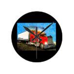 Reloj de pared del camión