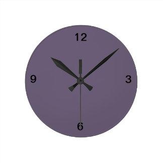 Reloj de pared del ciruelo