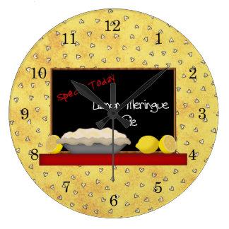 Reloj de pared del comensal de la empanada del