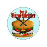 reloj de pared del das Burgermeister