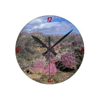 Reloj de pared del desierto de Arizona