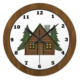 Reloj de pared del dibujo animado de la cabina del