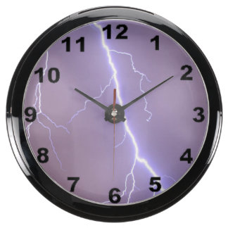 "Reloj de pared del diseño de la ""huelga de reloj aquavista"