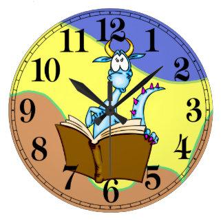 Reloj de pared del dragón