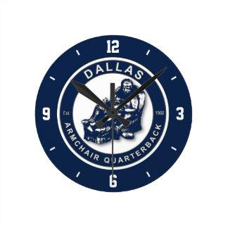 Reloj de pared del estratega de la butaca de Dalla