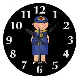 Reloj de pared del explorador