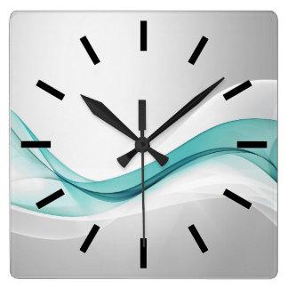 Reloj de pared del extracto de la onda del trullo