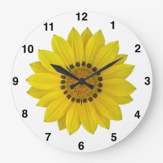 Reloj de pared del girasol