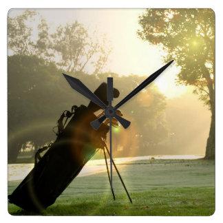 Reloj de pared del golf