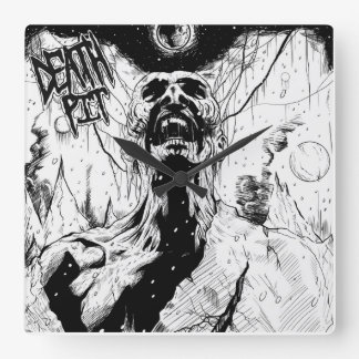 ¡Reloj de pared del hoyo de la muerte!