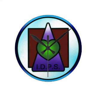 Reloj de pared del IDPS