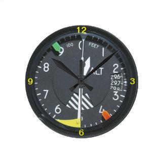 Reloj de pared del indicador de indicador de