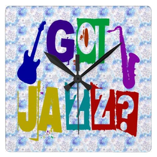 Reloj de pared del jazz