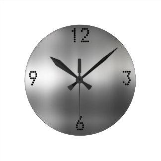 Reloj de pared del metal