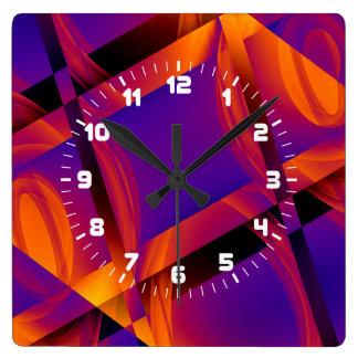 Reloj de pared del modelo de la tecnología