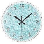Reloj de pared del modelo de William Morris