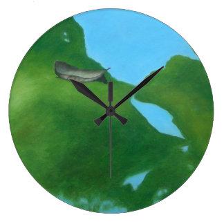 Reloj de pared del MUNDO de la CHARCA