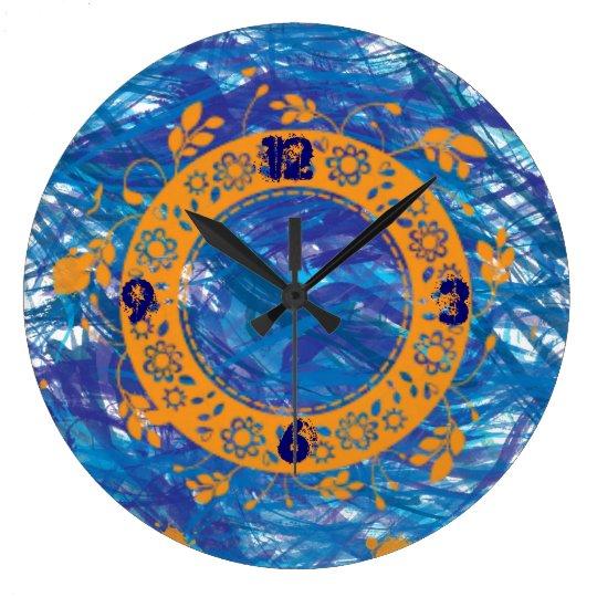 Reloj de pared del océano profundo