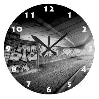 Reloj de pared del PAISAJE URBANO de LONDRES (MODA