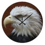 Reloj de pared del pájaro de Eagle