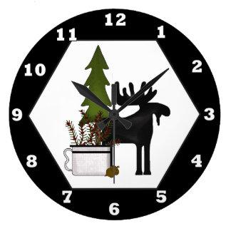 Reloj de pared del partido de la mezcla de los
