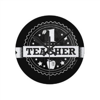 Reloj de pared del profesor #1