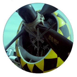 Reloj de pared del rayo P-47