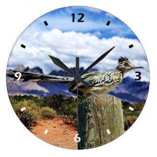Reloj de pared del Roadrunner