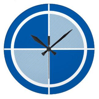 Reloj de pared del símbolo de la elevación (luz)